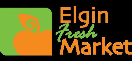 A theme logo of Elgin Fresh Market